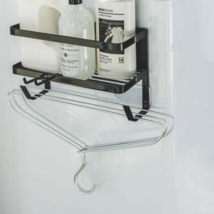 ホースホルダー付き洗濯機マグネットラック タワー【ランドリー収納/おしゃれ】ホワイトの使用詳細画像