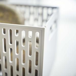 ベジタブルストッカー タワー【キッチン収納/おしゃれ】ホワイトの詳細画像