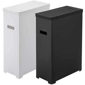 スリム蓋付きゴミ箱 タワー【キッチン収納/おしゃれ】カラーバリエーション画像